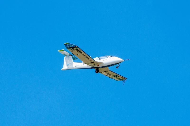 the E-Fan at Farnborough airshow