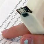手指朗讀機 幫助盲人輕鬆閱讀