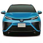 量產版豐田 Toyota FCV 氫燃料電池車 2015 年上市