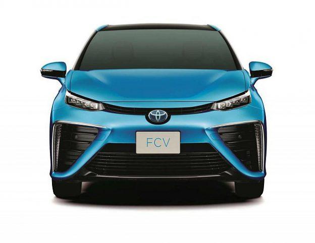 量產版豐田 Toyota Fcv 氫燃料電池車 2015 年上市 Technews 科技新報