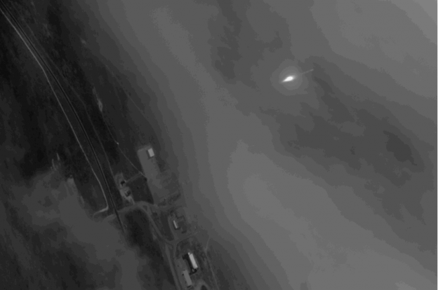 A Satellite Took Pictures of Another Satellite and Now It's a GIF-TIME