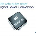 意法半導體推出 STM32 數位電源微控制器,讓雲端應用設計更節能環保