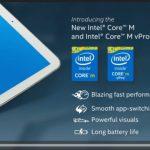 Intel 發佈 14 奈米處理器 Core M,主攻平板、年底上市