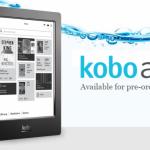 Kobo 發表全球首款防水 E Ink 電子書閱讀器、10 月開賣