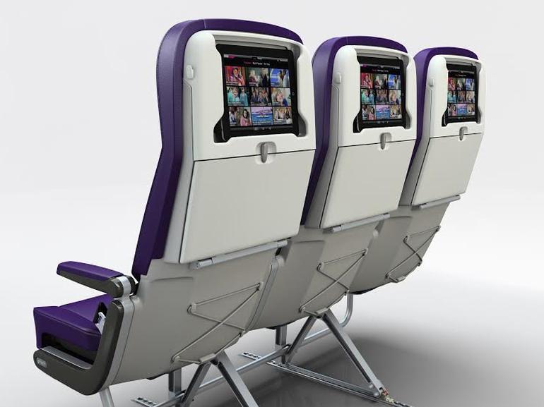 搭飞机看电影,要你自备平板