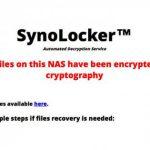 Synology NAS 遭勒贖軟體攻擊   漏洞來自舊版控制軟體