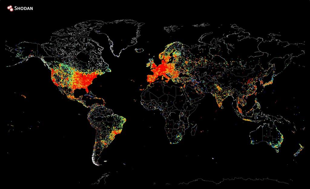 Ping 向全世界,勾勒出全球網路地圖