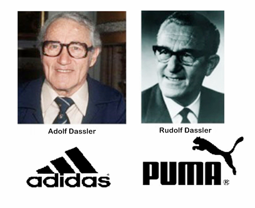 adias and puma