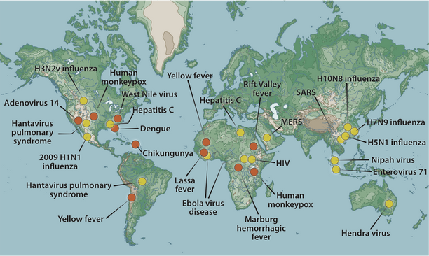 viruses map