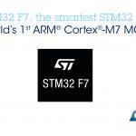 意法半導體發表 ARM M7 內核 STM32 F7 微控制器,性能倍增功耗不變
