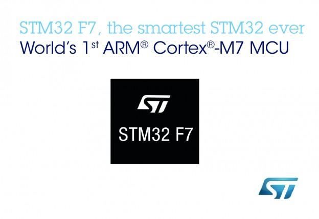 2014年9月30日ST新聞圖片——意法半導體推出全球首款基於 ARM Cortex-M7 的STM32 F7系列微控制器,加快開發人員的創新步伐