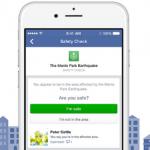 Facebook 報平安服務上線