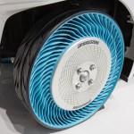普利司通於巴黎汽車展上推出第二代無充氣輪胎