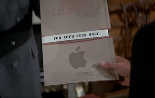 Apple-for-your-eyes-only