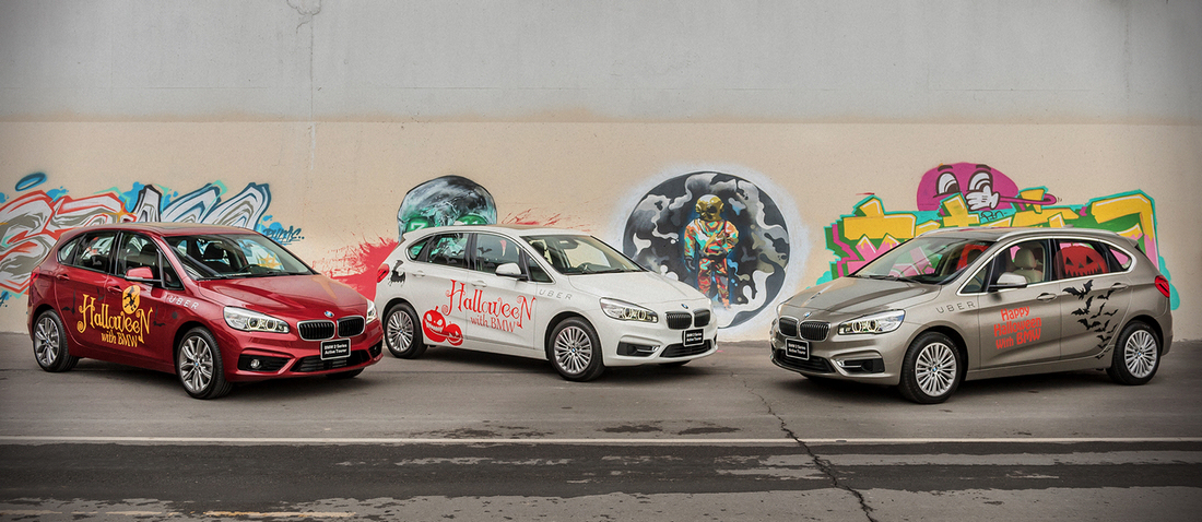 BMW 2-Active Tourer x Uber