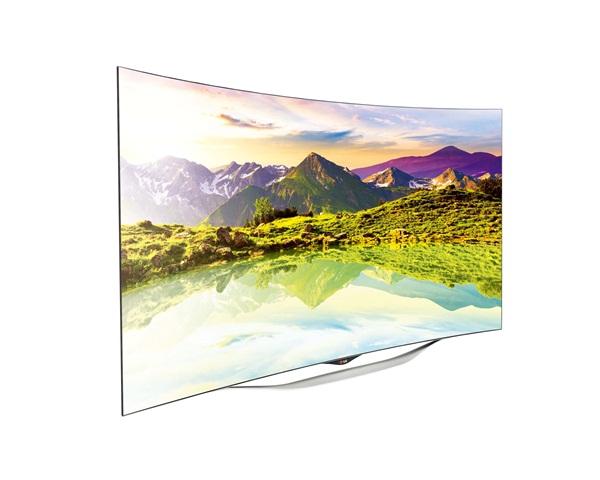 LG CURVED OLED TV
