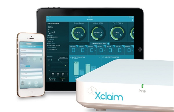 Xclaim AP and Harmony app with iPhone and iPad