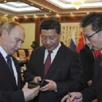 手機外交,俄總統普丁送習近平智慧型手機