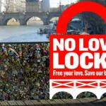 巴黎拒絕愛情鎖,鼓勵情侶發自拍照代之