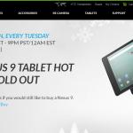 Nexus 9 赴美上市 1 天就半價限量促銷!hTC:已賣光