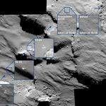 羅塞塔號 OSIRIS 捕捉到菲萊號橫越彗表的瞬間