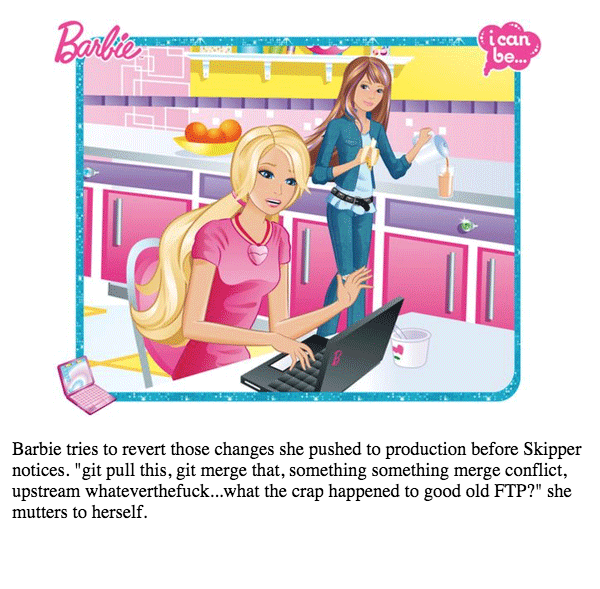 barbie-git