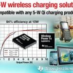 TI 推出首款 10W 無線電源解決方案,消費類電子產品無線充電更迅速