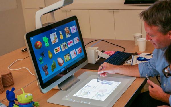 惠普 Sprout,個人電腦與互動體驗的平衡整合