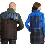 時尚品牌引進穿戴式充電概念,太陽能電池面板貼上身