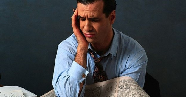 Bad News From the Stock Market man people pain trouble
