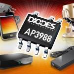 Diodes 初級側轉換器降低電源大小及成本 同時提升效率和效能