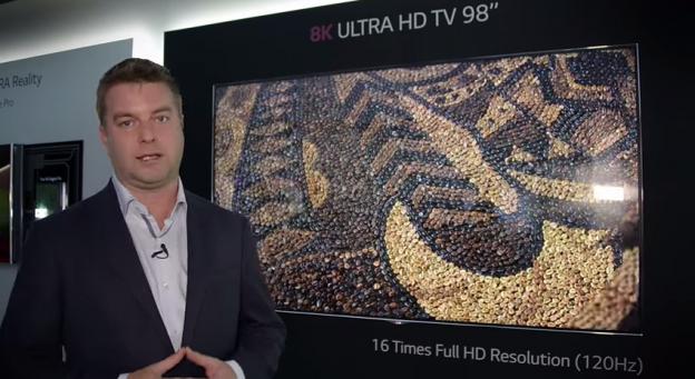 LGD 8K TV