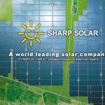 全力攻中小面板,夏普傳退出北美太陽能電池事業