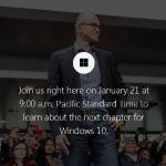 Windows 10 發表倒數計時,跨平臺 Windows 即將登場