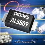 Diodes 精簡定電流線性穩壓器改善 LED 電流容差