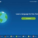 Duolingo-frontpage