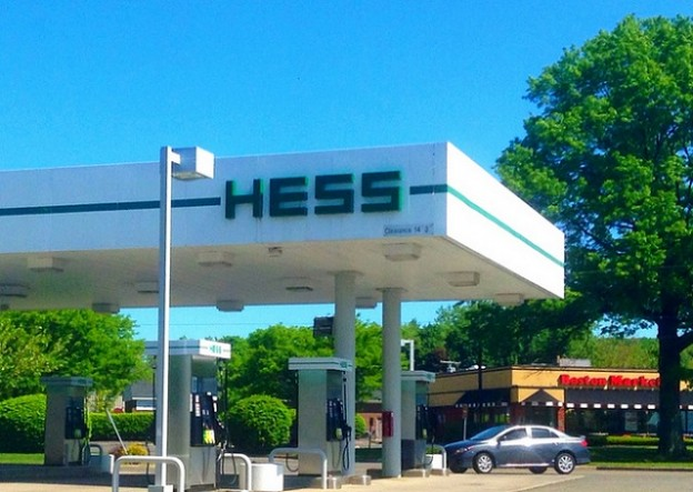 Gas station0119
