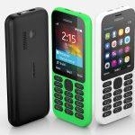 微軟推低價連網功能手機 Nokia 215,稅前定價僅 29 美元