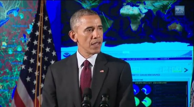The President Speaks About Cybersecurity-The White House