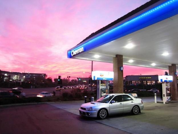 chevron-gas-station
