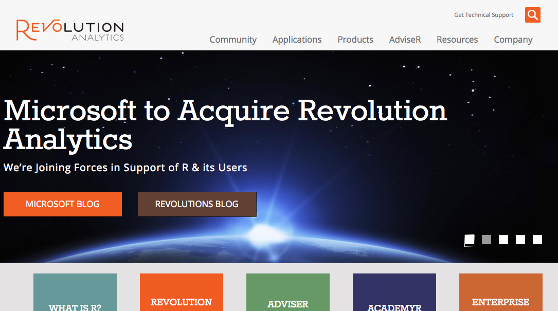 revolution-analytics-homepage