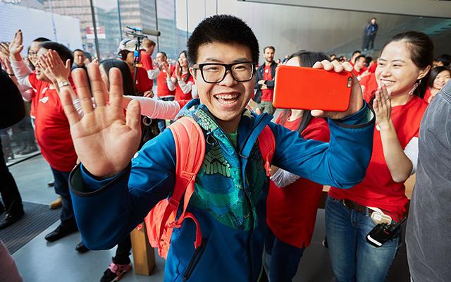 2015 年 1 月 24 日蘋果杭州西湖店開業