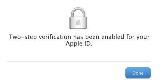 蘋果兩階段驗證