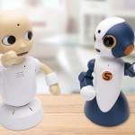 為忙碌生活增添樂趣,日本家庭式對話機器人療癒感十足