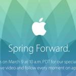 蘋果 2015 春季發表會 3 月 9 日登場,Apple Watch 成焦點