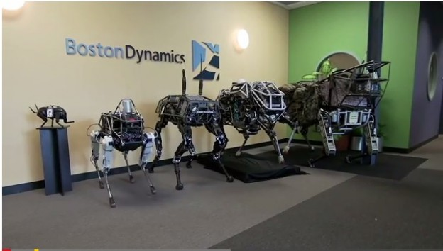 Boston Dynamics Shows Off Spot