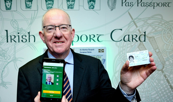 Ninister-flanagan-at-launch-of-irish-passport-card-678x400px