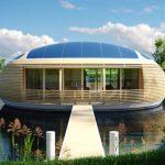 Waternest 100 超有型的太陽能發電屋