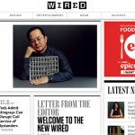《Wired》網站改版,強調速度、訊息量和趣味性