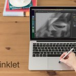 Inklet:使用新款 MacBook 的 Force Touch 觸控板進行手寫繪圖
